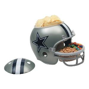 Dallas Cowboys Snack Helmet Vase Planter MAIN