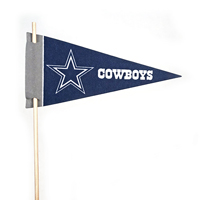 Dallas Cowboys Mini Felt Pennants THUMBNAIL
