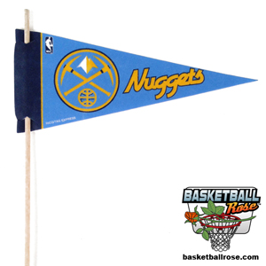 Denver Nuggets Mini Felt Pennant MAIN