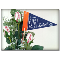Baseball Gifts|Detroit Tigers Flower Arrangements and Gifts