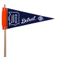 Detroit Tigers Mini Felt Pennant THUMBNAIL