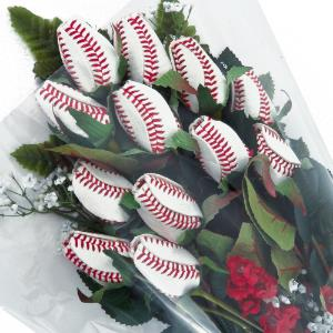 Baseball Rose Grand Slam Bouquet (12 Roses) MAIN