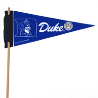 Duke Blue Devils Mini Felt Pennants THUMBNAIL