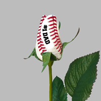 Father's Day Baseball Rose - Baseball Themed Gifts THUMBNAIL