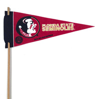 Florida State Seminoles Mini Felt Pennants THUMBNAIL