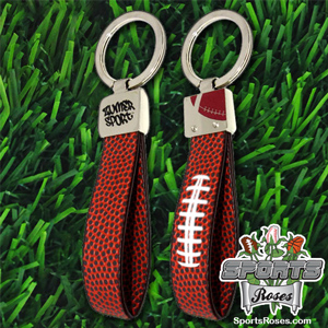Football Leather Key Chain MAIN