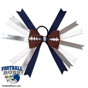 Football Hair Bow - Dallas MAIN