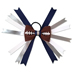 Football Hair Bow - Dallas SWATCH