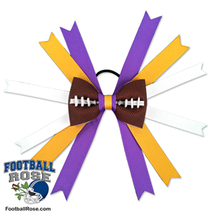 Football Hair Bow - Minnesota_MAIN