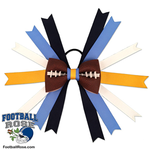 Football Hair Bow - San Diego_MAIN