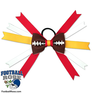 Football Hair Bow - Kansas City MAIN