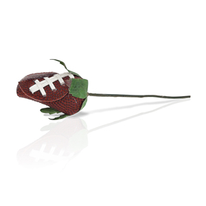Football Rose Corsage Stem - Customize your own boutonnieres and corsages MAIN