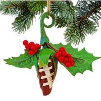 Football Rose Holiday Mistletoe THUMBNAIL