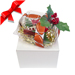 Football Rose Christmas Ornament with Gift Box SWATCH