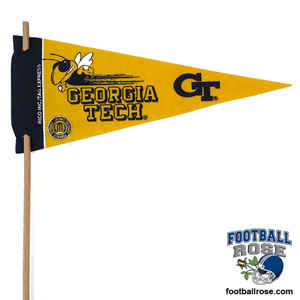 Georgia Tech Yellow Jackets Mini Felt Pennants MAIN