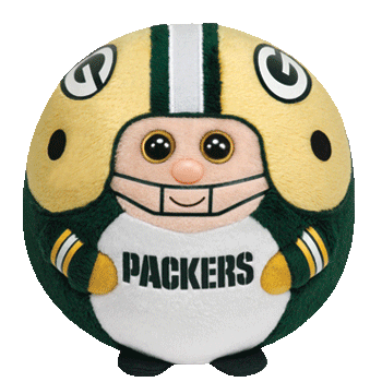 Green Bay Packers Beanie Ballz Plush Toy