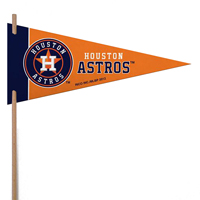 Houston Astros Mini Felt Pennants THUMBNAIL
