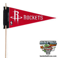 Houston Rockets Mini Felt Pennant THUMBNAIL