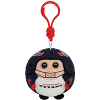 Houston Texans Beanie Ballz Clip THUMBNAIL