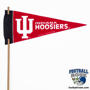 Indiana Hoosiers Mini Felt Pennants MAIN