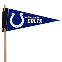 Indianapolis Colts Mini Felt Pennants THUMBNAIL