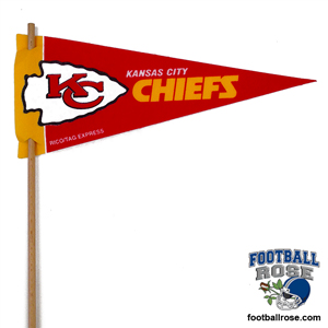 Kansas City Chiefs Mini Felt Pennants MAIN