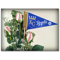 Baseball Gifts|Kansas City Royals Flower Arrangements and Gifts