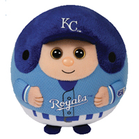Kansas City Royals Beanie Ballz THUMBNAIL