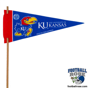 Kansas Jayhawks Mini Felt Pennants_MAIN