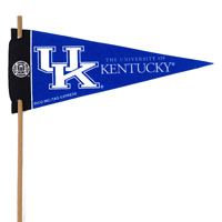 Kentucky Wildcats Mini Felt Pennants THUMBNAIL