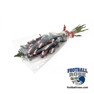 "Football Rose ""Hail Mary"" Bouquet - Aim for the heart of a football fan"