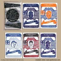 Left Field Cards Series 4 - United States of Baseball Pack 1 Dems_THUMBNAIL