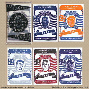 Left Field Cards Series 4 - United States of Baseball Pack 1 Dems