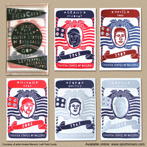 Left Field Cards Series 4 - United States of Baseball Pack 2 MAIN