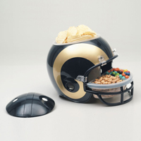 Los Angeles Rams Snack Helmet Vase Planter_THUMBNAIL