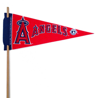 Los Angeles Angels Mini Felt Pennants THUMBNAIL