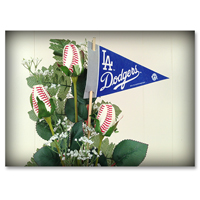 Baseball Gifts|Los Angeles Dodgers Flower Arrangements and Gifts