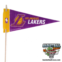 Los Angeles Lakers Mini Felt Pennant THUMBNAIL