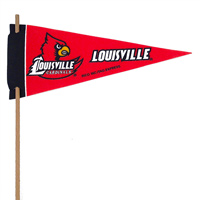 Louisville Cardinals Mini Felt Pennants THUMBNAIL