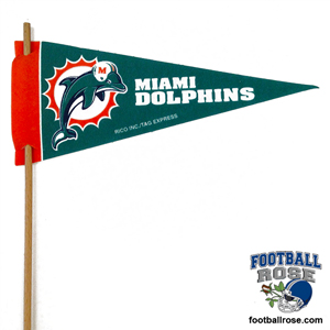 Miami Dolphins Mini Felt Pennants MAIN