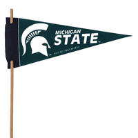 Michigan State Spartans Mini Felt Pennants THUMBNAIL