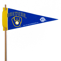 Milwaukee Brewers Mini Felt Pennants_THUMBNAIL