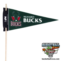 Milwaukee Bucks Mini Felt Pennant THUMBNAIL