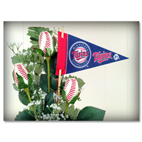 Baseball Gifts|Minnesota Twins Flower Arrangements and Gifts