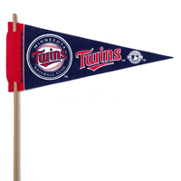 Minnesota Twins Mini Felt Pennants THUMBNAIL