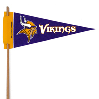 Minnesota Vikings Mini Felt Pennants THUMBNAIL