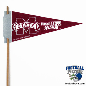 Mississippi Bulldogs Mini Felt Pennants MAIN