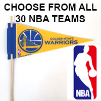 Golden State Warriors Mini Felt Pennant THUMBNAIL