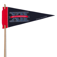 Big 12 Mini Felt Pennants THUMBNAIL