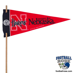 Nebraska Huskers Mini Felt Pennants MAIN